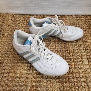 Adidas Goodyear Leather Driving Sneaker Size 8